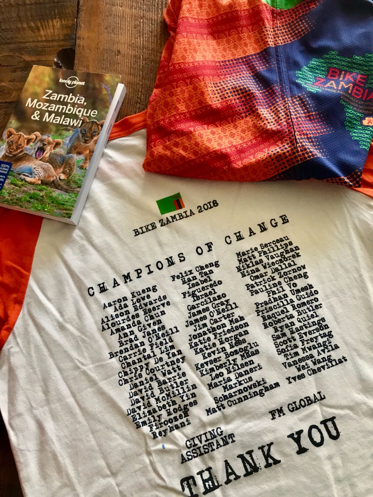 This was a very thoughtful and unique way that some of our 2018 riders choose to thank their donors! There are many ways to say thank you...