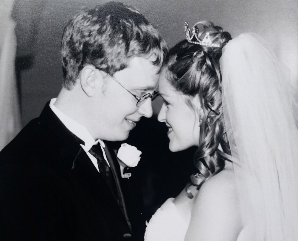 October 6, 2001...I became Mrs. Anthony Ayers at 24.