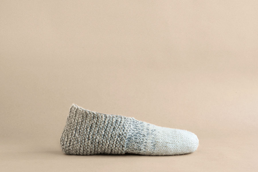 Adorable  House Slippers , perfect for  Blue Sky Alpacas Skinny Cotton !