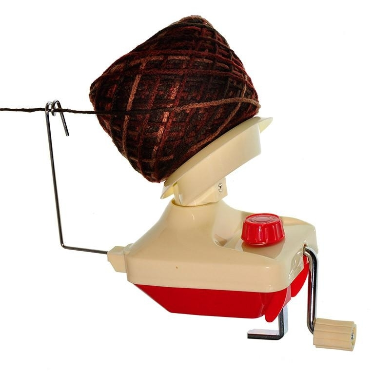 A yarn winder, because every knitter/crocheters life is better with one.