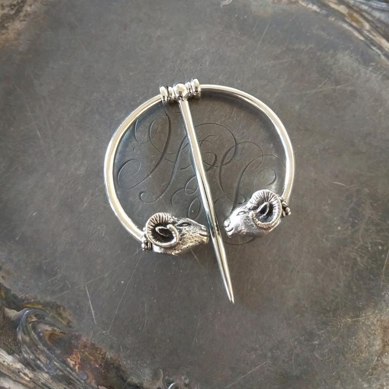 A beautiful shawl pin, to wear with handknits