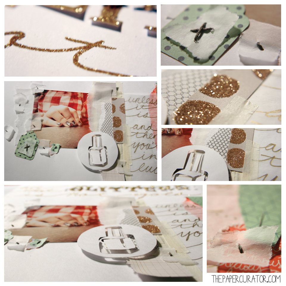 DETAIL SHOTS 'ALL THAT GLITTERS' | THE PAPER CURATOR