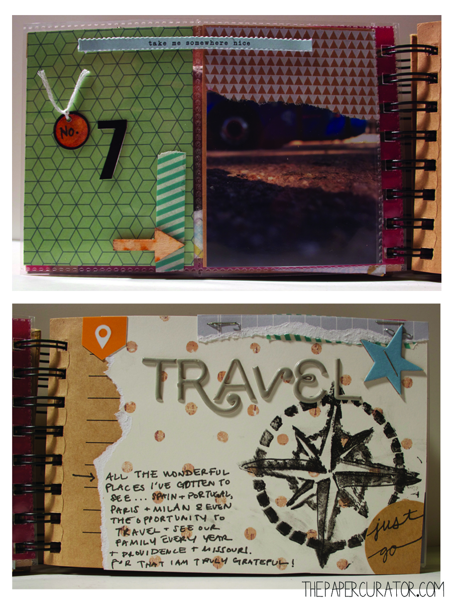 NO. 7 - TRAVEL  | THE PAPER CURATOR