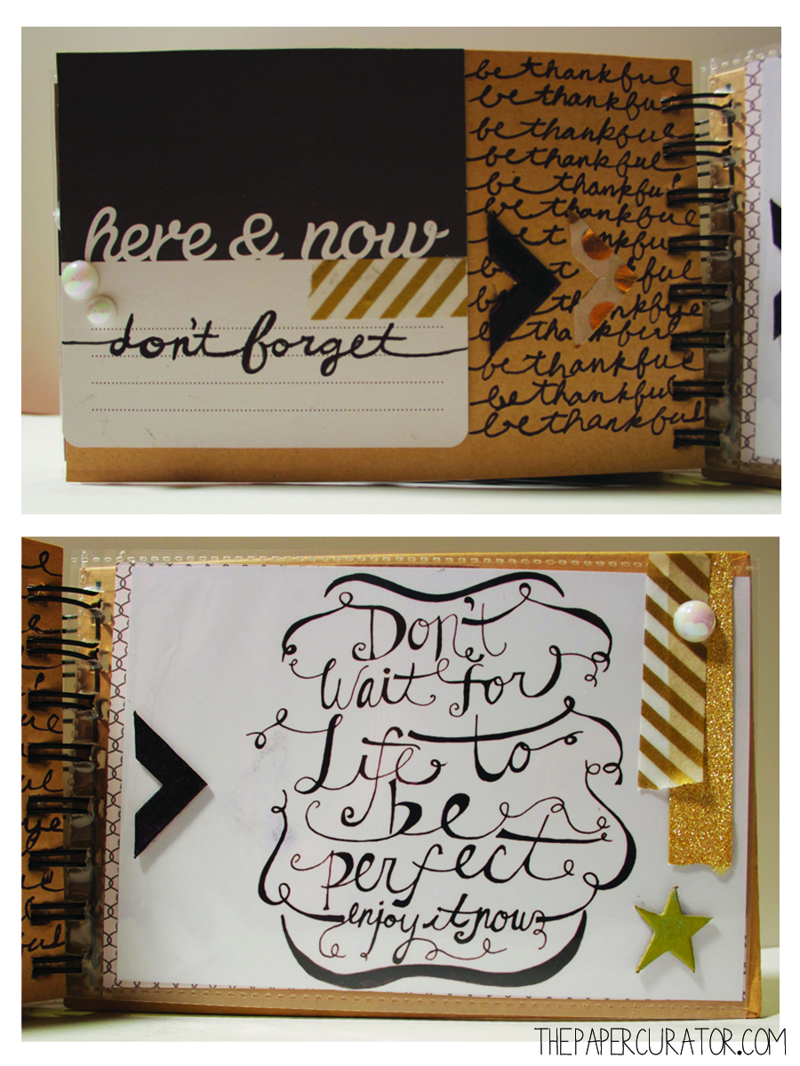 CLOSING PAGE  'OH YES! THANKFUL' MINI ALBUM | THE PAPER CURATOR