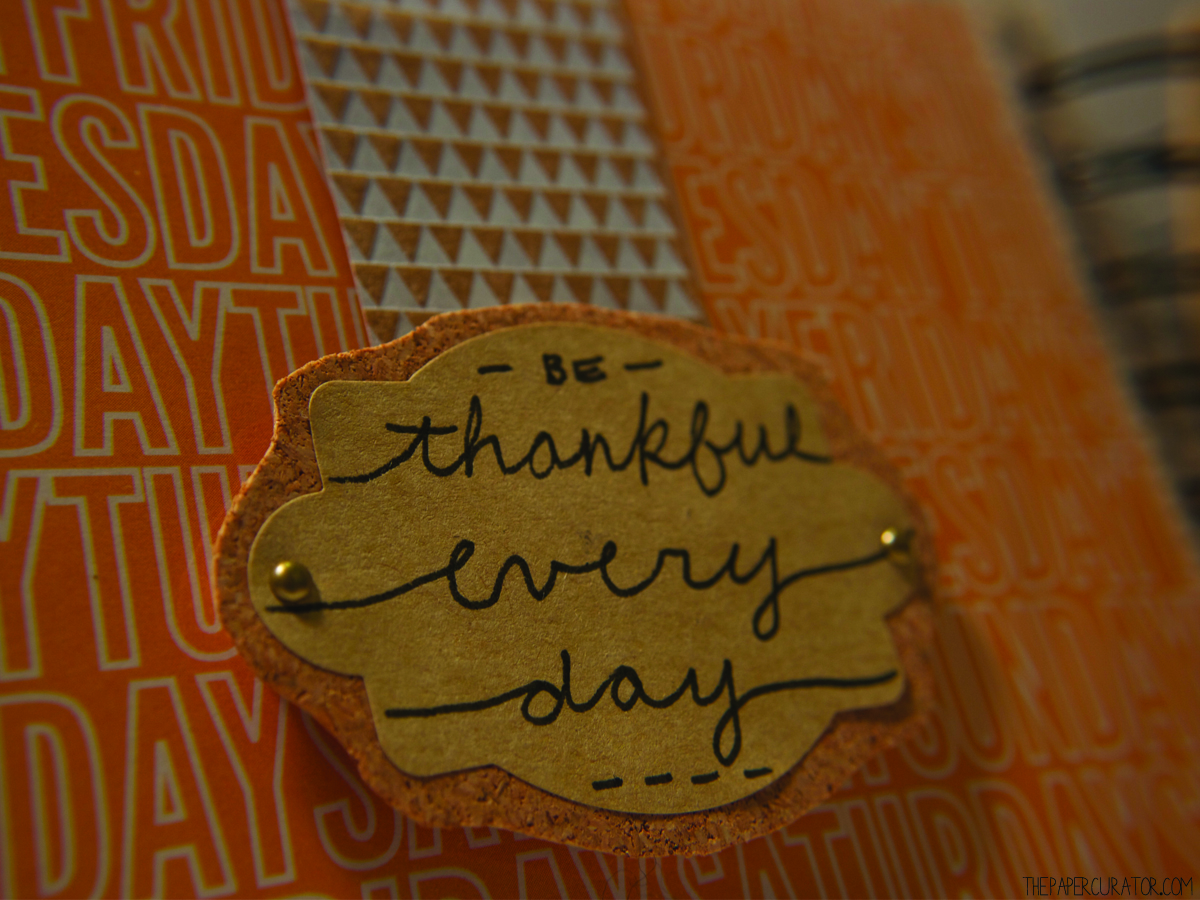 THANKFUL EVERY DAY DETAILS | THE PAPER CURATOR