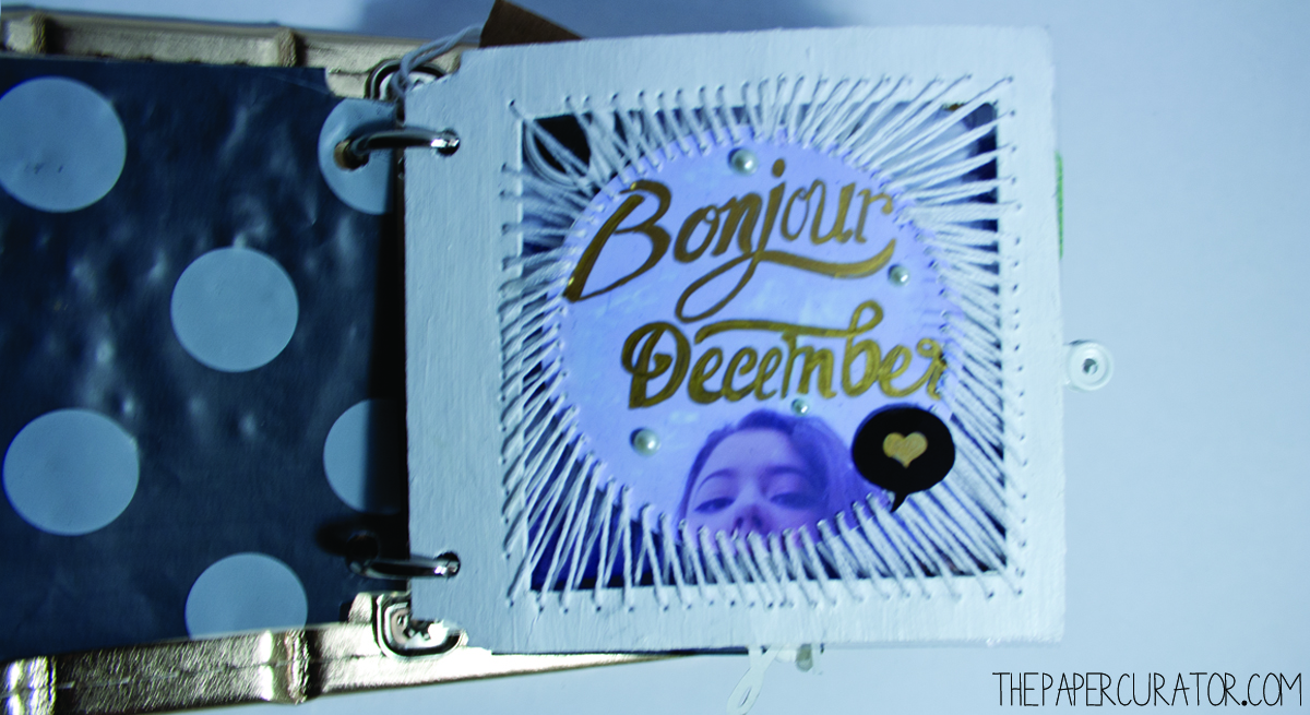 BONJOUR DECEMBER |  25 DAYS OF CHRISTMASMINIALBUM/ DECEMBER DAILY WEEKNO. 1 | THE PAPER CURATOR