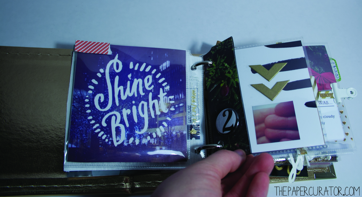 DECEMBER 2ND|  25 DAYS OF CHRISTMASMINIALBUM/ DECEMBER DAILY WEEKNO. 1 | THE PAPER CURATOR