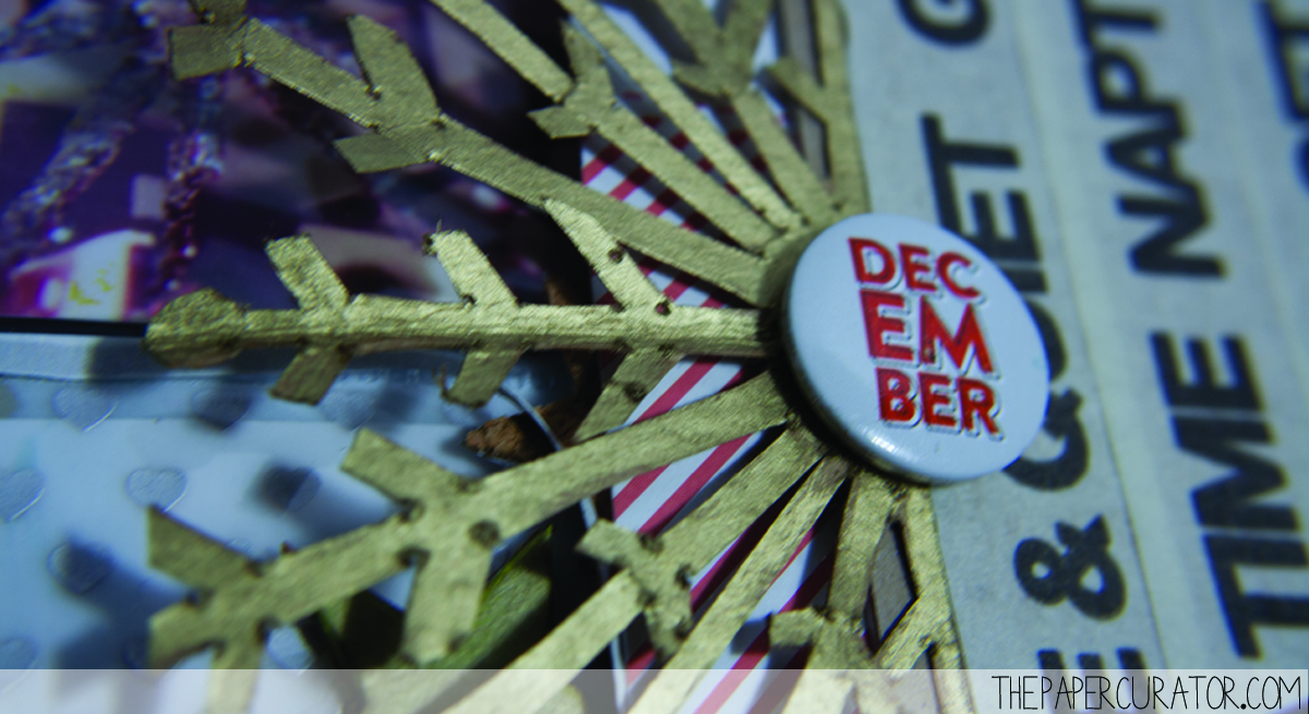 DECEMBER 4TH |  25 DAYS OF CHRISTMASMINIALBUM/ DECEMBER DAILY WEEKNO. 1 | THE PAPER CURATOR
