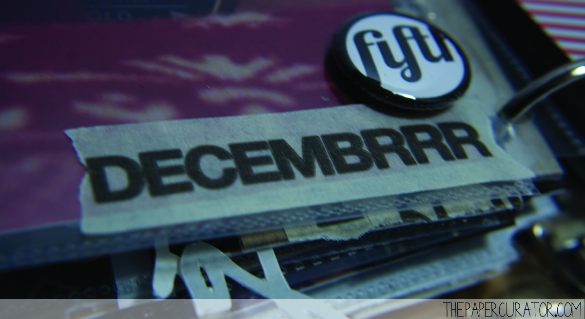 DECEMBER 5TH |  25 DAYS OF CHRISTMASMINIALBUM/ DECEMBER DAILY WEEKNO. 1 | THE PAPER CURATOR