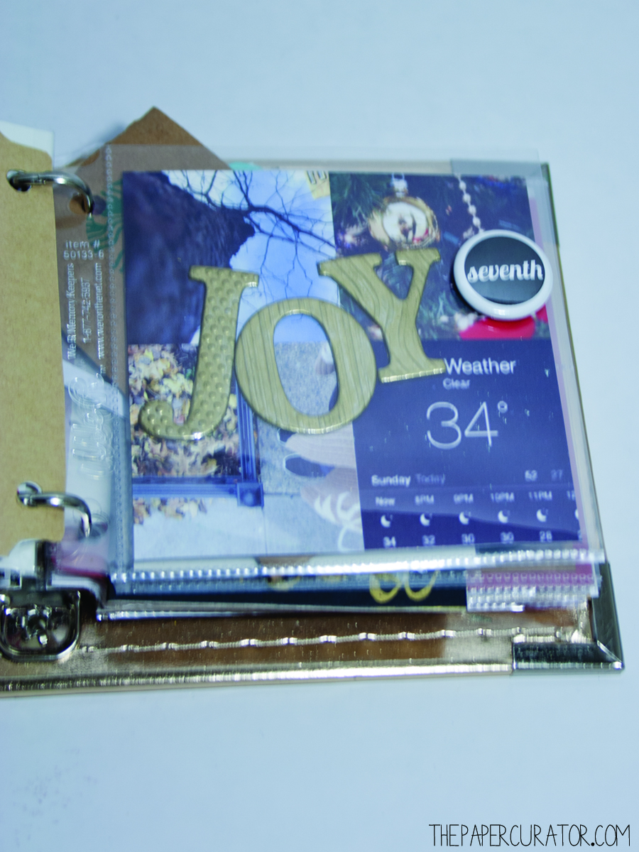 DECEMBER 7TH |  25 DAYS OF CHRISTMASMINIALBUM/ DECEMBER DAILY WEEKNO. 1 | THE PAPER CURATOR
