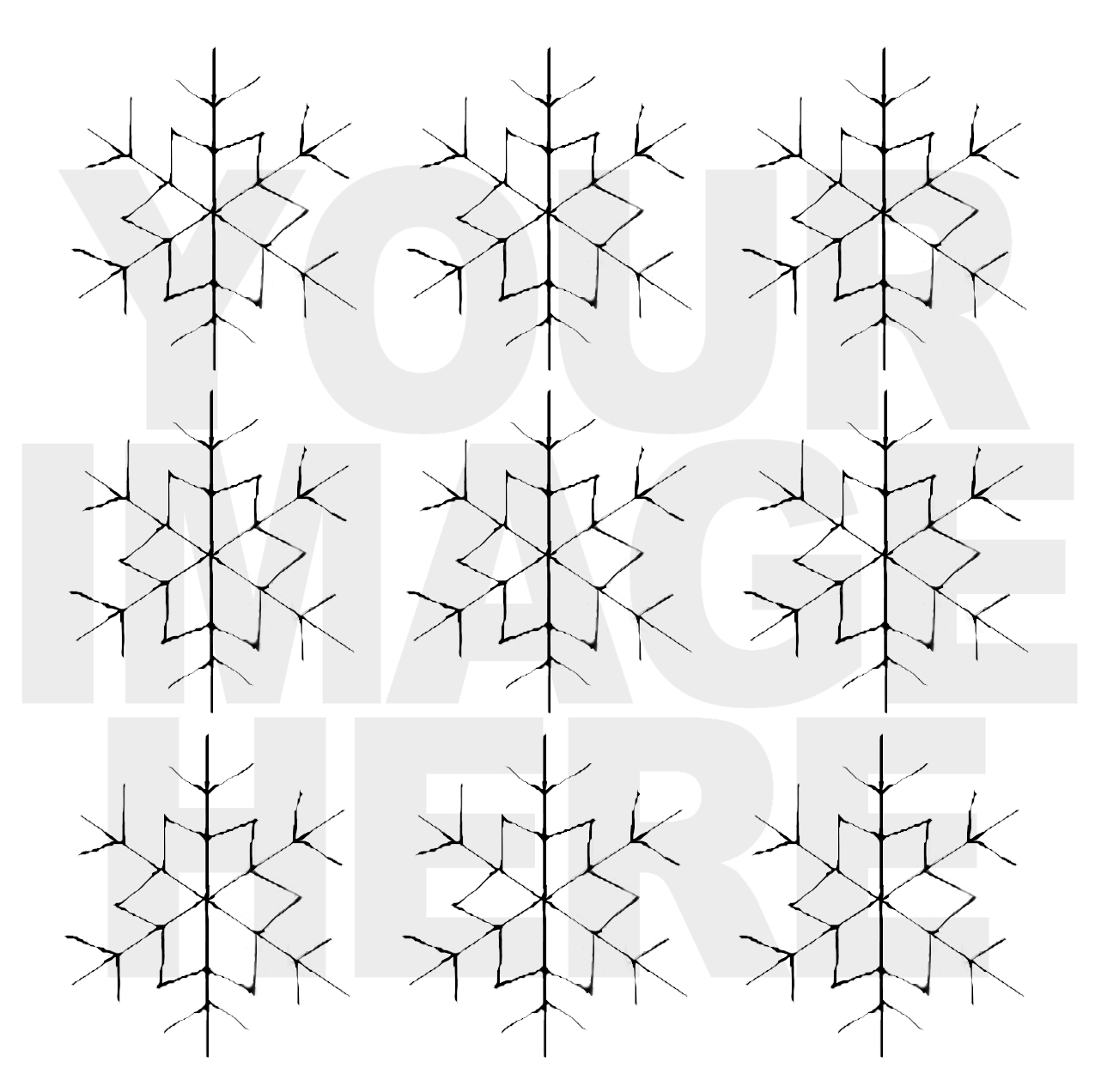 FREE DOWNLOAD SNOWFLAKE TEMPLATE FOR EMBROIDERY | THE PAPER CURATOR
