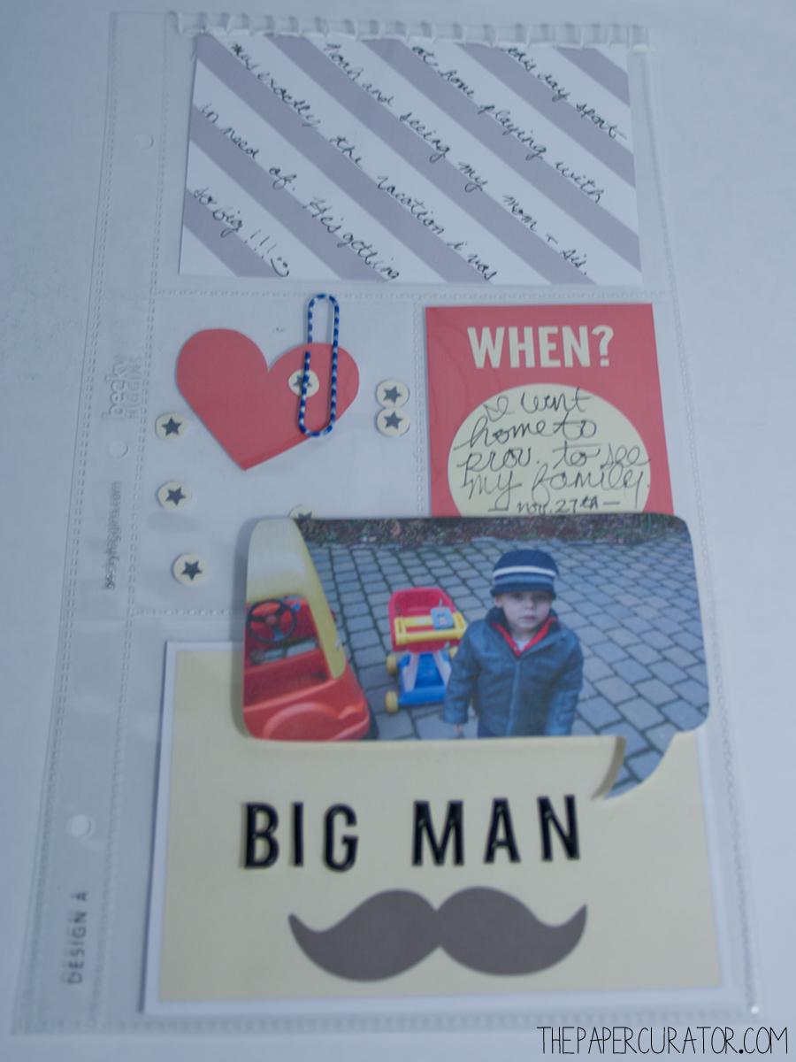 'BIG MAN' RIGHT SPREAD | THE PAPER CURATOR