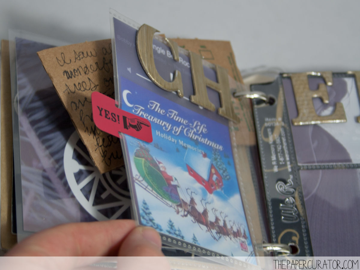 DECEMBER 9TH |  25 DAYS OF CHRISTMASMINIALBUM/ DECEMBER DAILY WEEKNO. 2 | THE PAPER CURATOR