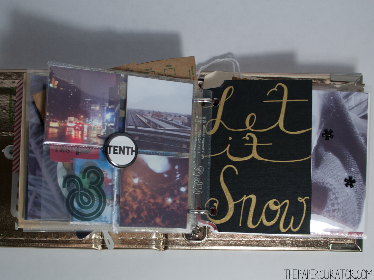 DECEMBER 10TH |  25 DAYS OF CHRISTMASMINIALBUM/ DECEMBER DAILY WEEKNO. 2 | THE PAPER CURATOR