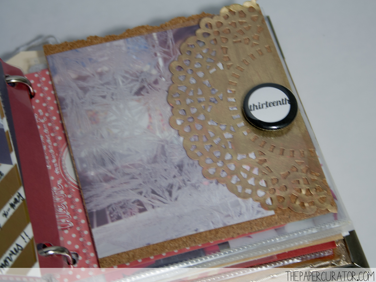 DECEMBER 13TH |  25 DAYS OF CHRISTMASMINIALBUM/ DECEMBER DAILY WEEKNO. 2 | THE PAPER CURATOR