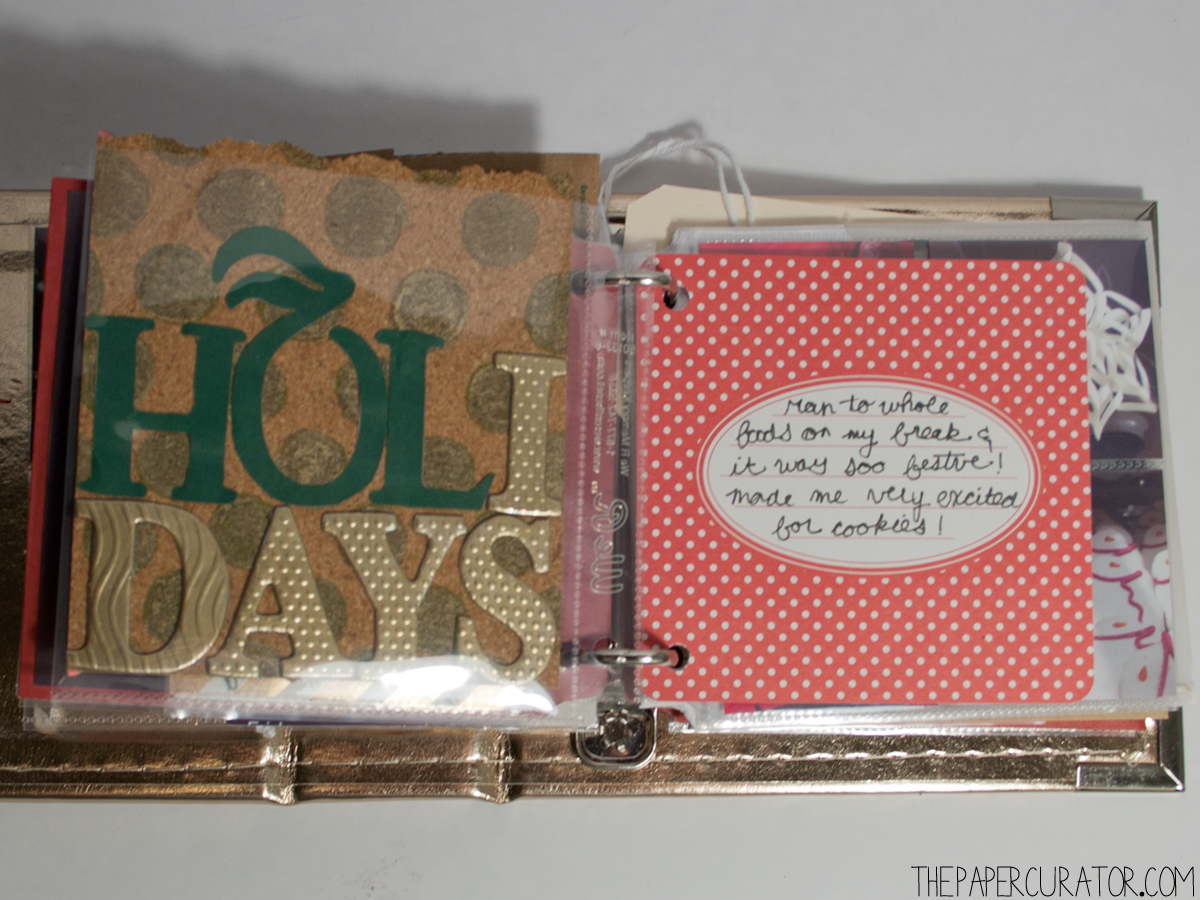 DECEMBER 14TH |  25 DAYS OF CHRISTMASMINIALBUM/ DECEMBER DAILY WEEKNO. 2 | THE PAPER CURATOR