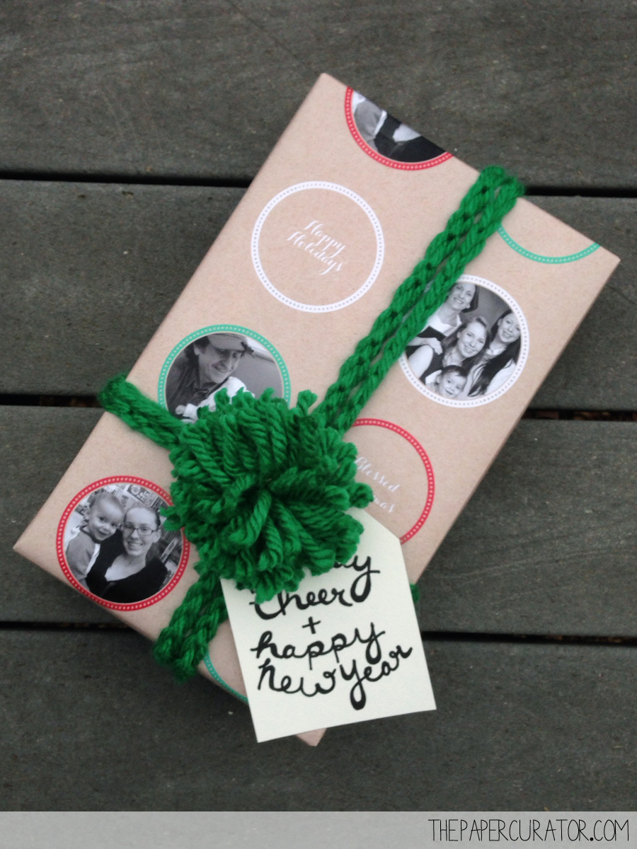 CUSTOM PHOTO WRAPPING PAPER PRESENTS | THE PAPER CURATOR