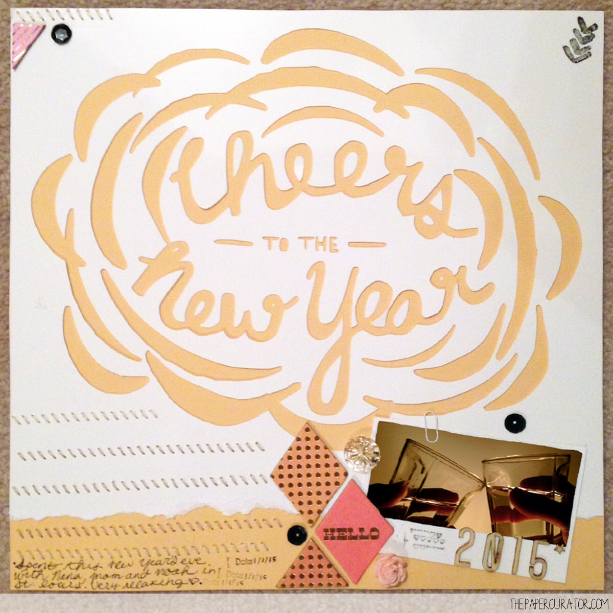 'CHEERS TO THE NEW YEAR' | THE PAPER CURATOR