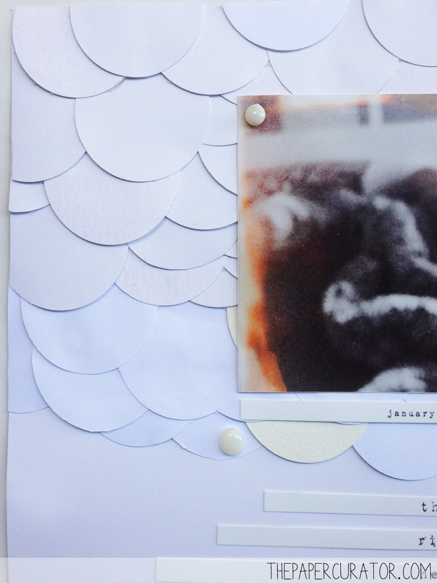 'THE BEST' SCRAPBOOK LAYOUT FOR SUNDAY SKETCH SERIES | THE PAPER CURATOR