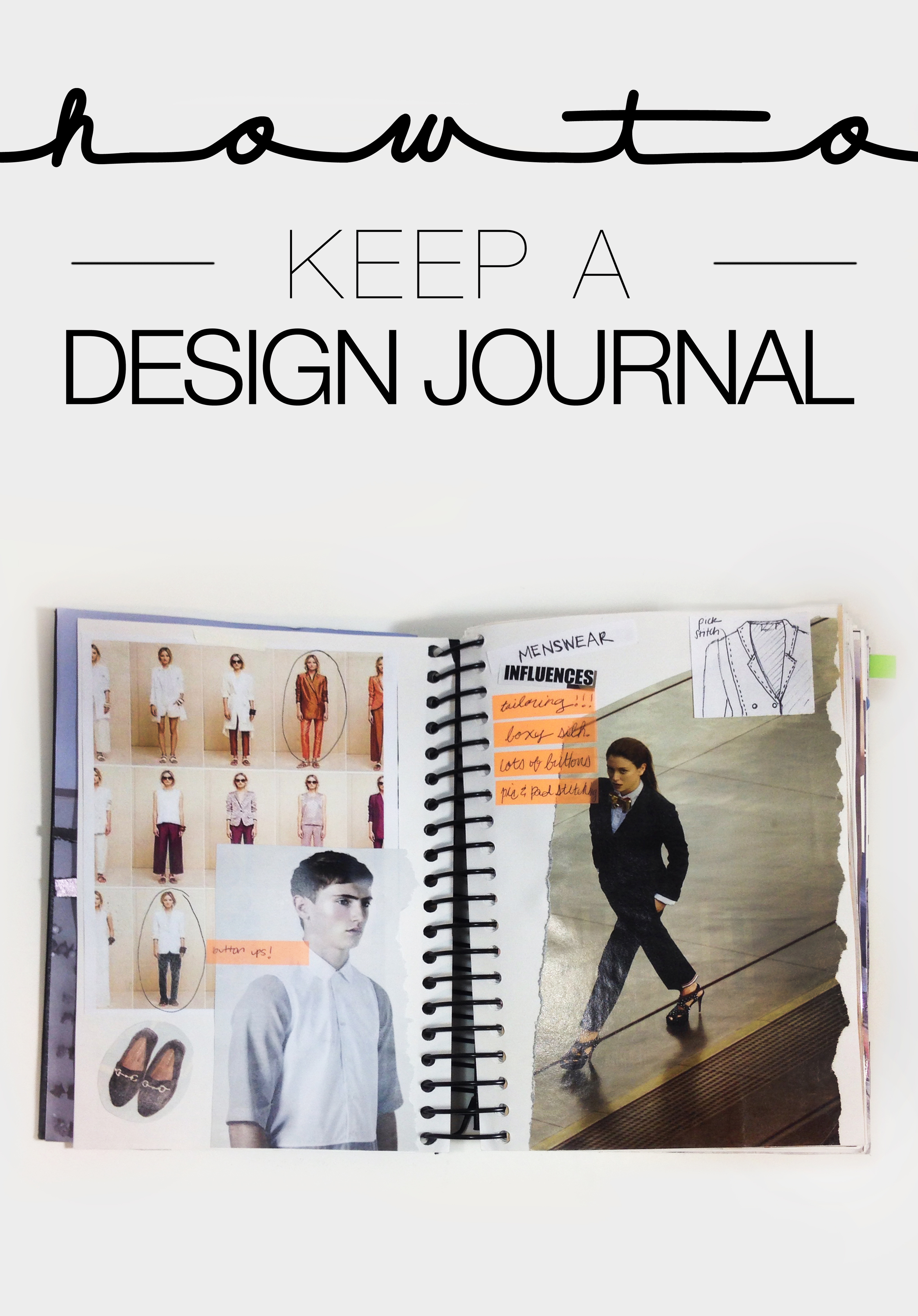 How I Keep A Design Journal The Paper Curator