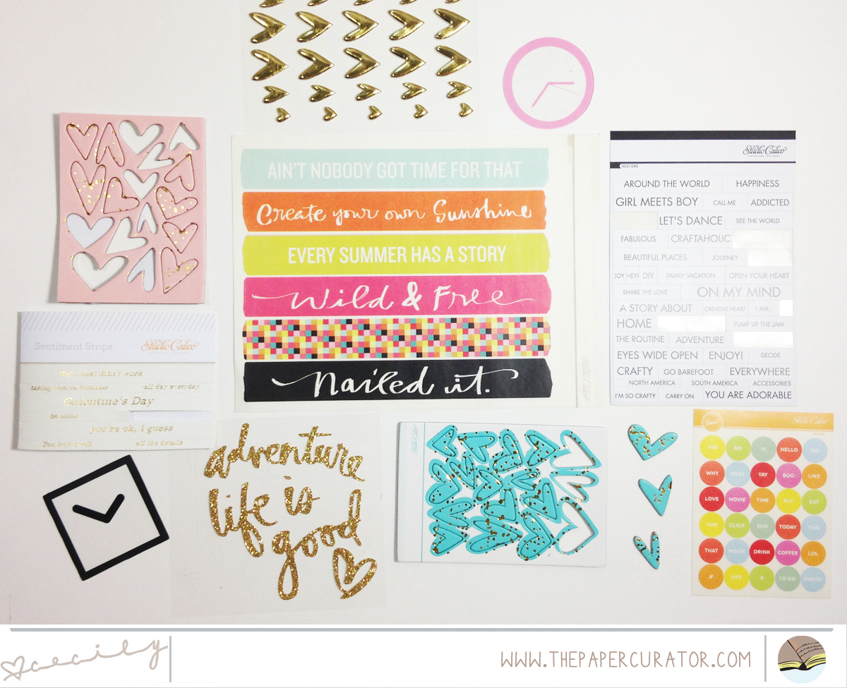 PRODUCTS I'M USING FOR THE #LITTLESUMMERJOY PROJECT | THE PAPER CURATOR