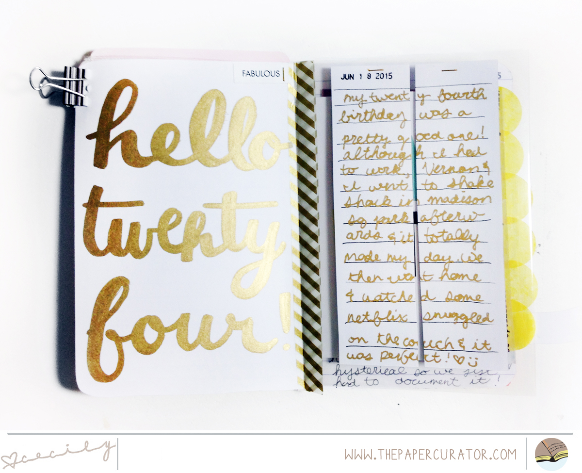 LITTLE SUMMER JOY PAGES WITH QUICK TIPS | THE PAPER CURATOR