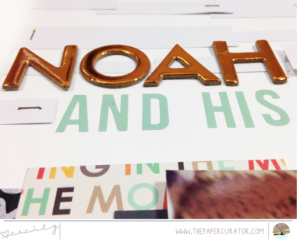 WEEKLY SCRAPBOOK SKETCH WITH SUNDAY SKETCH SERIES NO. 38, 'NOAH'S HATS' | THE PAPER CURATOR