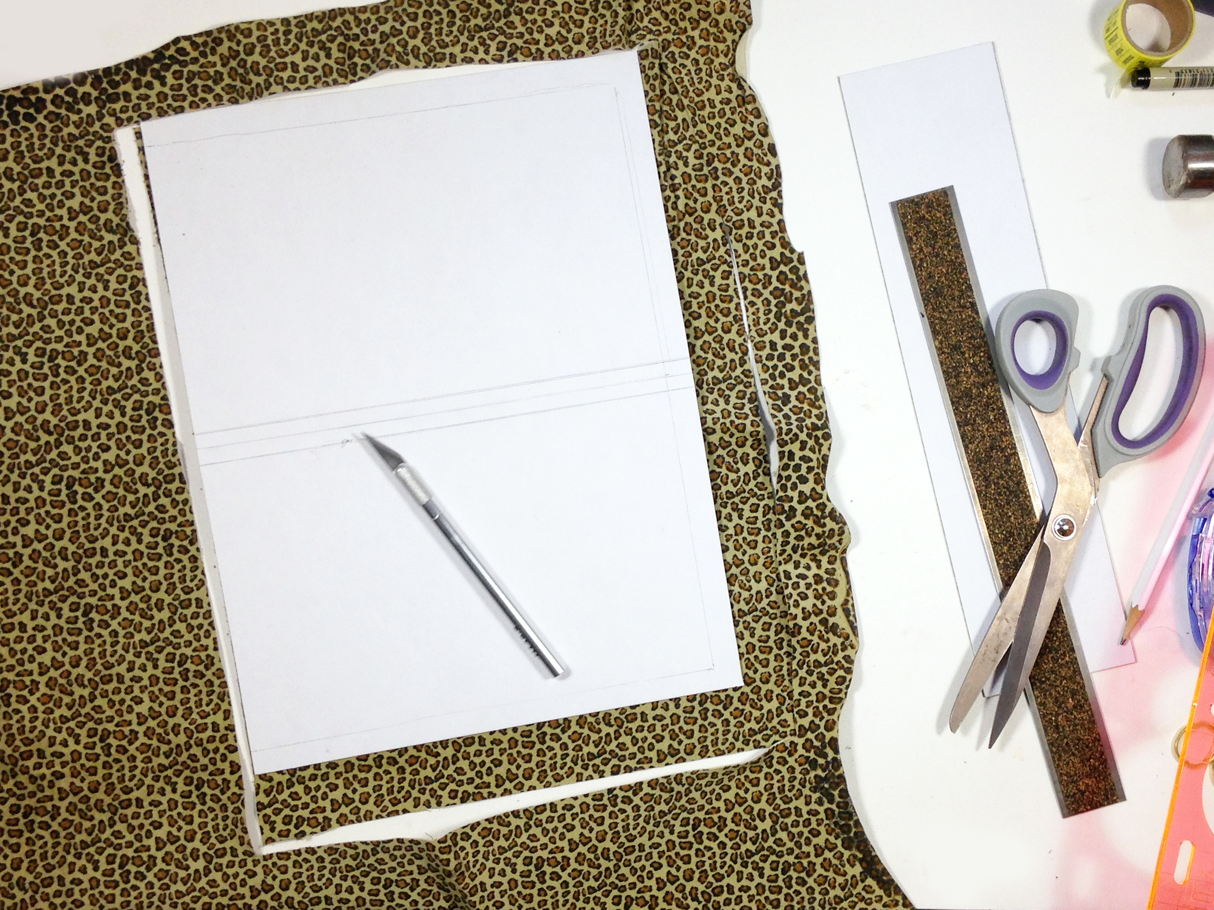 IY | LEATHER COVERED + TABBED NOTEBOOK | THE PAPER CURATOR