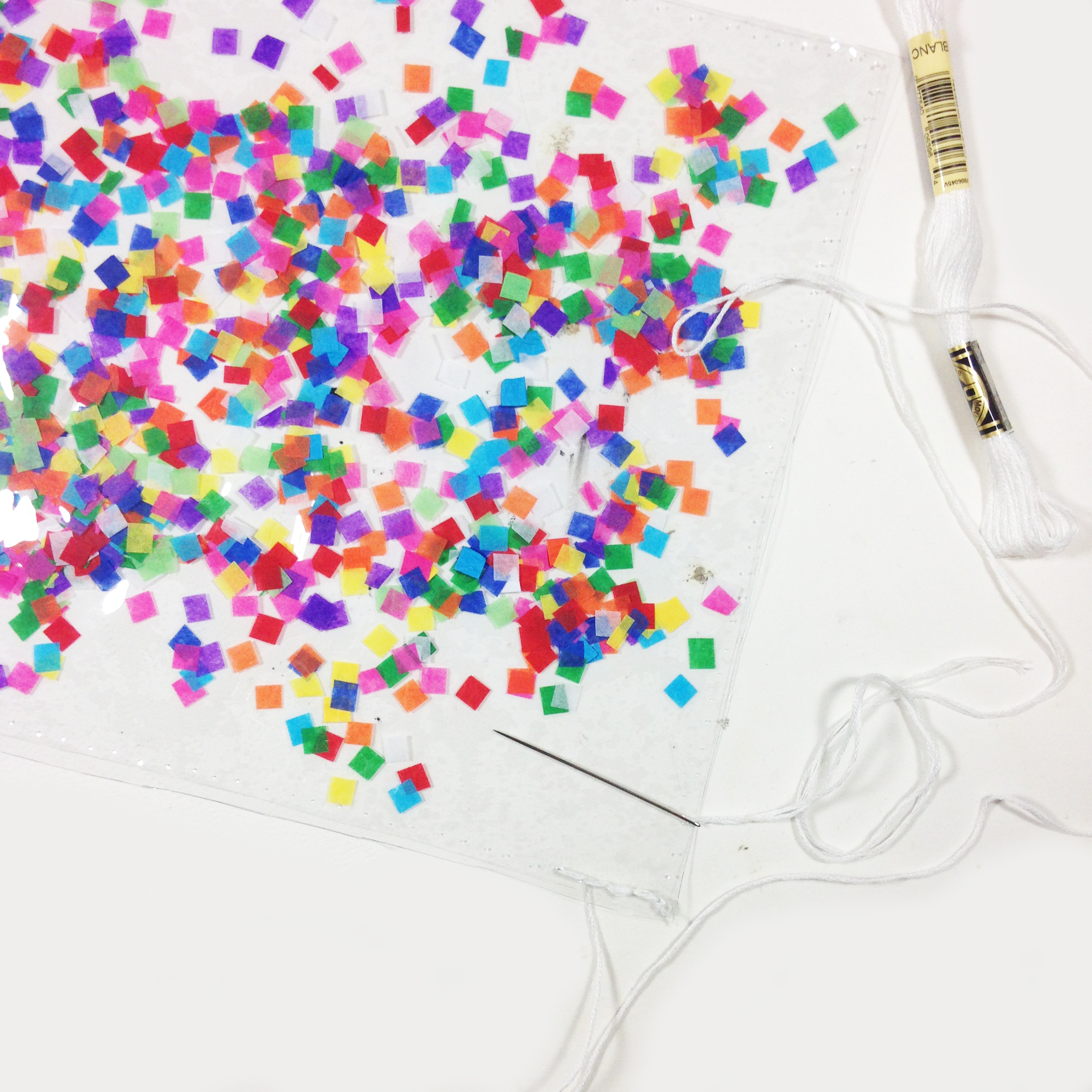 DIY CONFETTI PENCIL CASE TUTORIAL | THE PAPER CURATOR
