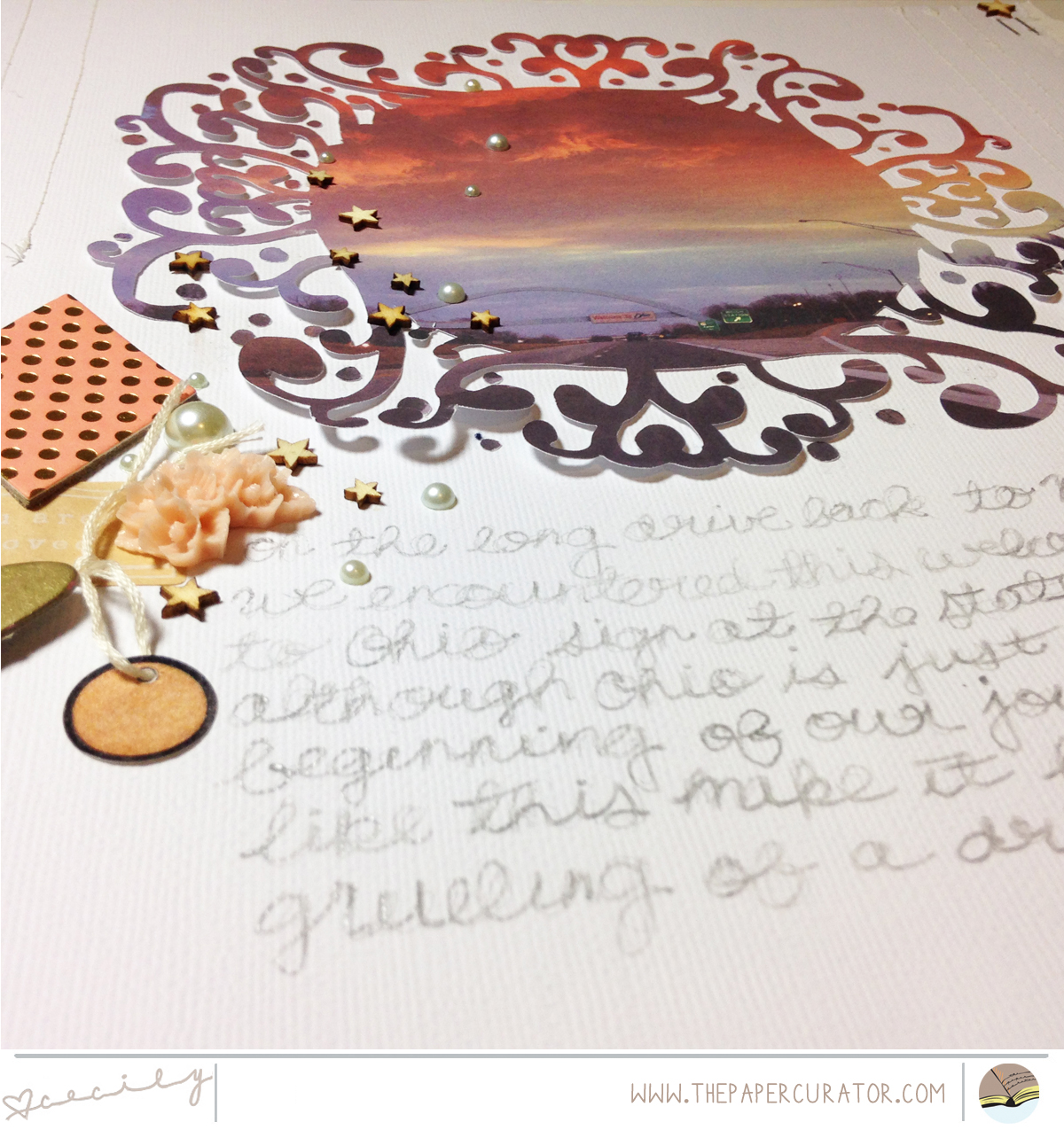 MAKING YOUR PHOTO THE STAR OF YOUR SCRAPBOOK PAGE | THE PAPER CURATOR