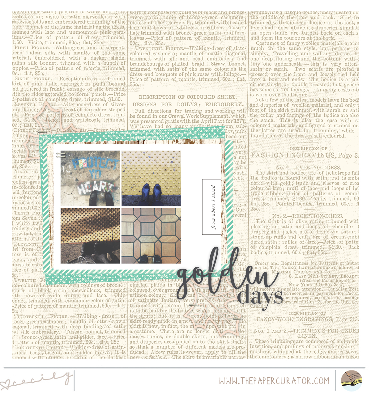 USING TEMPLATES TO COMBINE THEMED PHOTOS | THE PAPER CURATOR