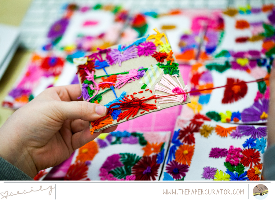 FLORAL EMBROIDERY   QUICK STEPS TO FOLLOW (PHOTOGRAPHY BY  NATALIA BAKER )  THE PAPER CURATOR