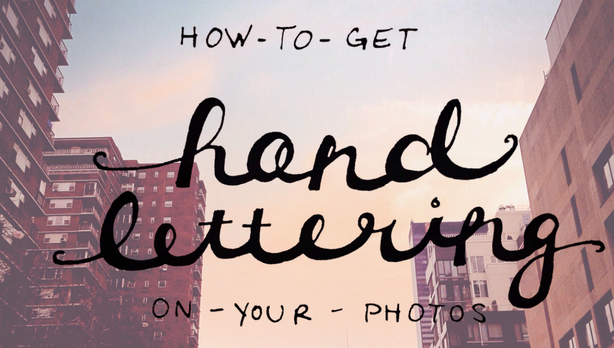 2015 FAVORITE BLOG POSTS NO. 2 - HAND LETTERING OVERLAYS | THE PAPER CURATOR
