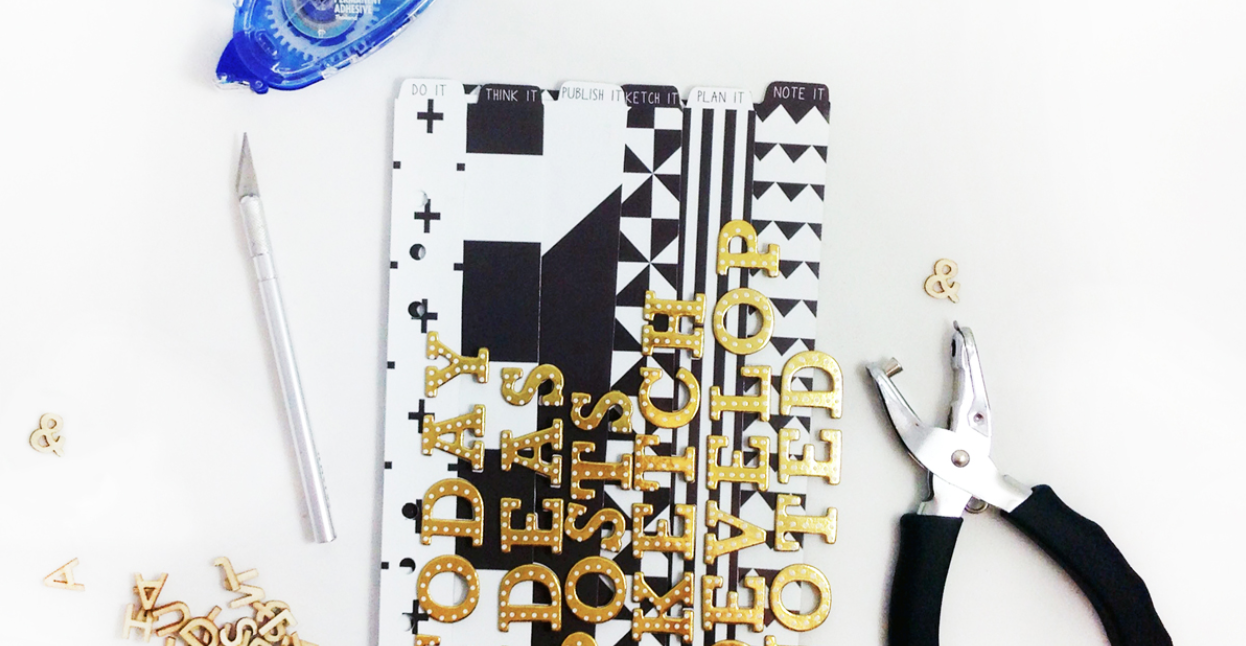 2015 FAVORITE BLOG POSTS NO. 3 - CUSTOM PLANNER DIVIDERS | THE PAPER CURATOR