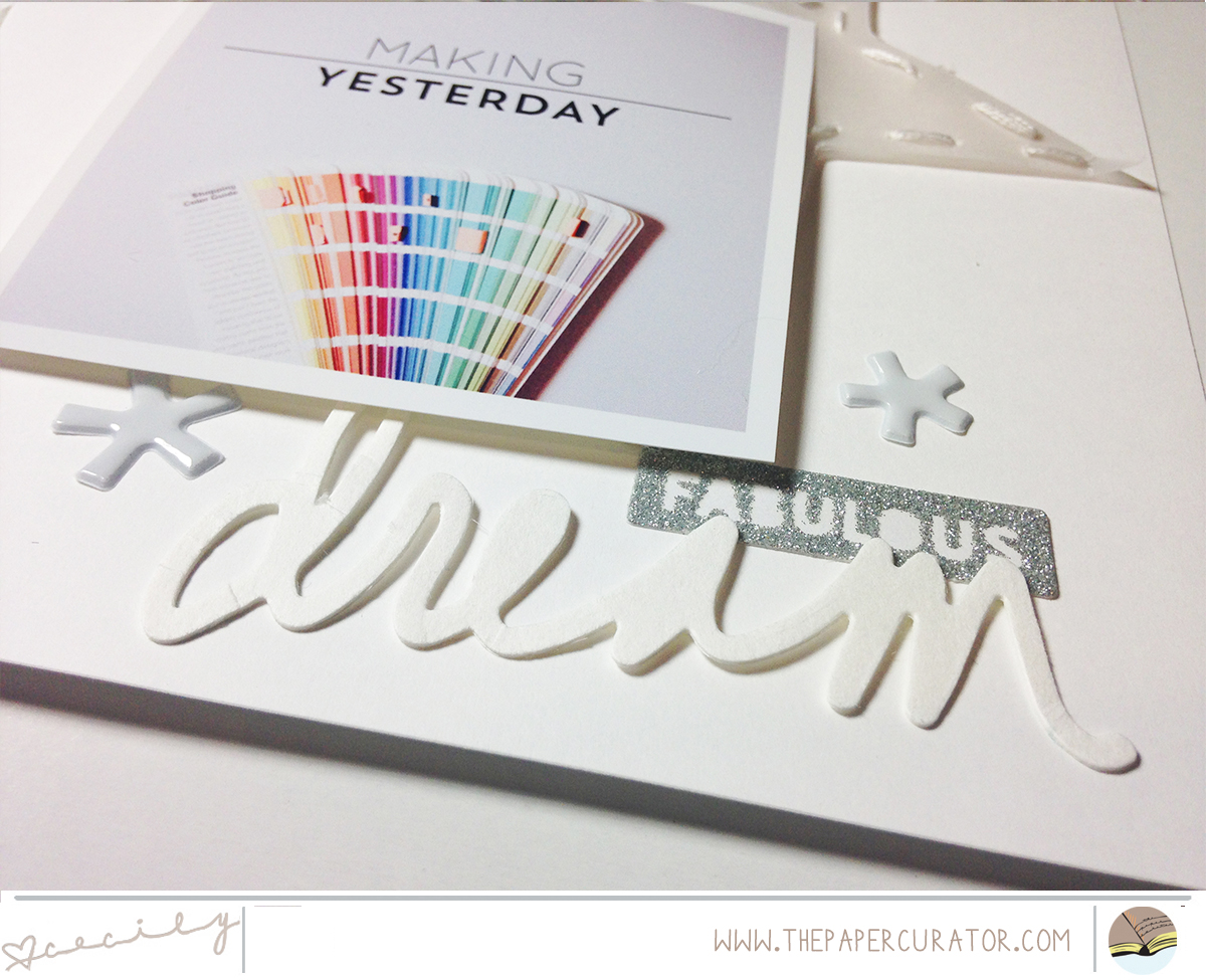 SUNDAY SKETCH SERIES NO. 44 WITH 'MAKE' SCRAPBOOK SKETCH | THE PAPER CURATOR