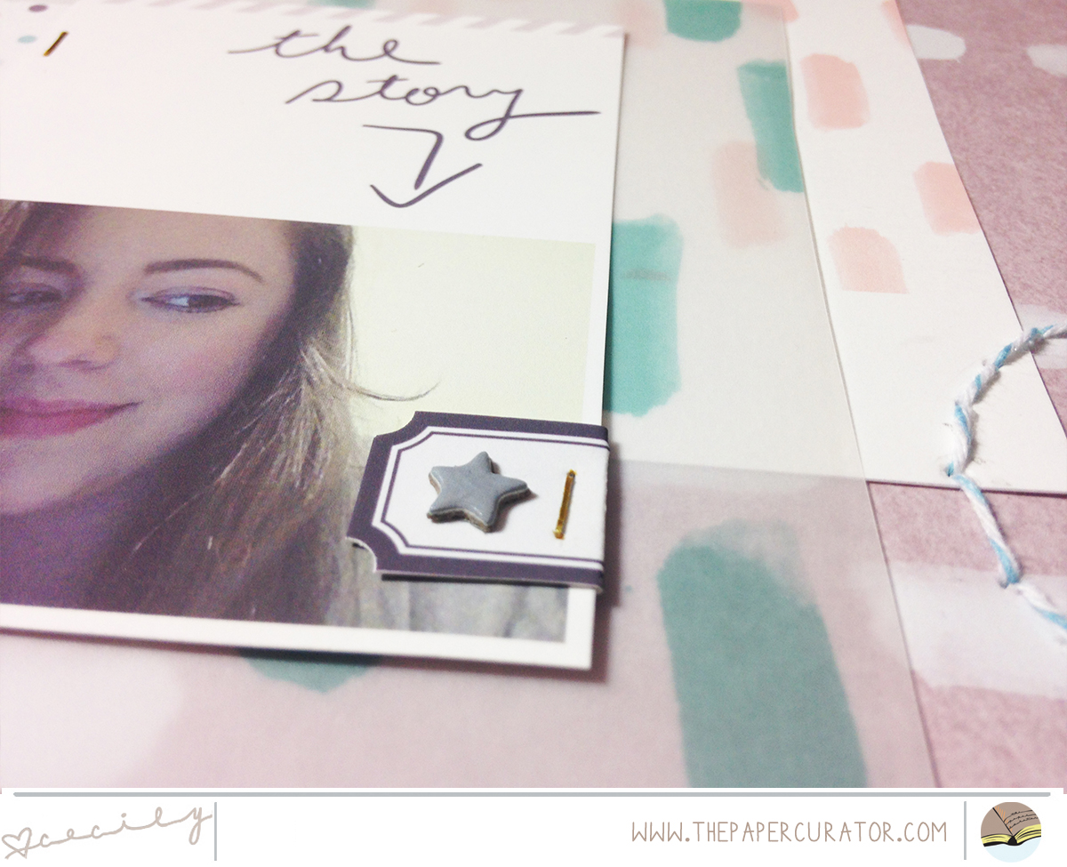 TEAL LIME PRESS HYBRID LAYOUT TITLED 'ME'   THE PAPER CURATOR