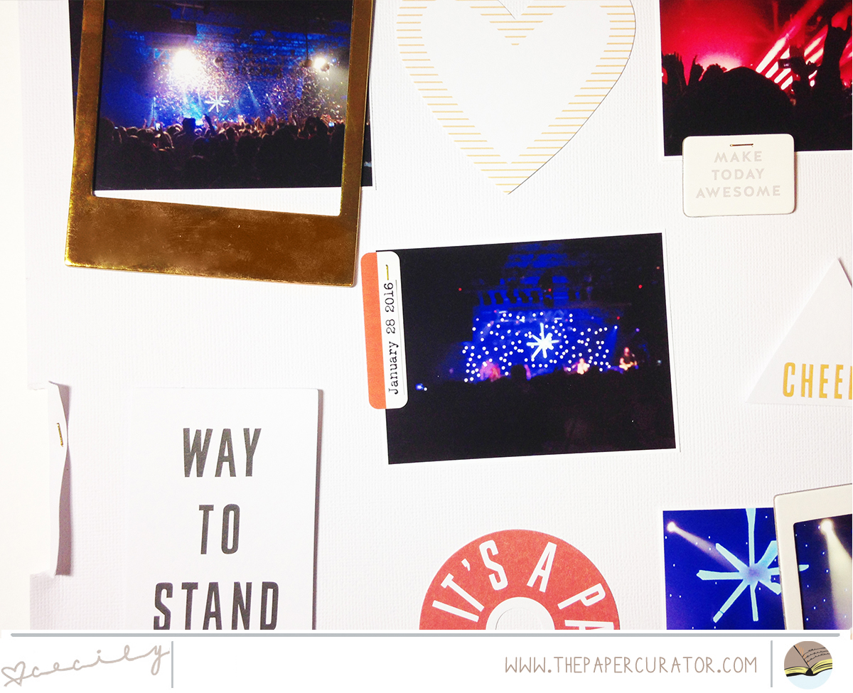 SUNDAY SKETCH SERIES NO. 47 WITH 'STAND OUT' SCRAPBOOK LAYOUT | THE PAPER CURATOR