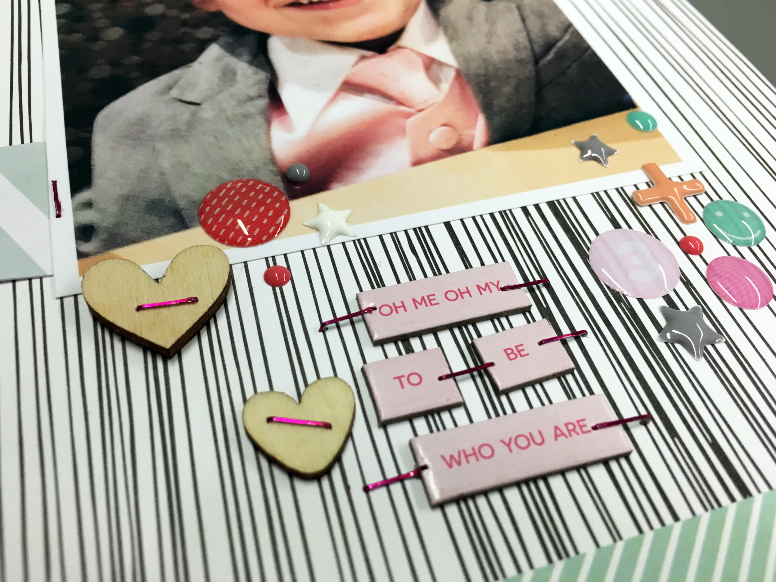 """Sunday Sketch Series No. 55 with """"Style"""" Scrapbook Layout 