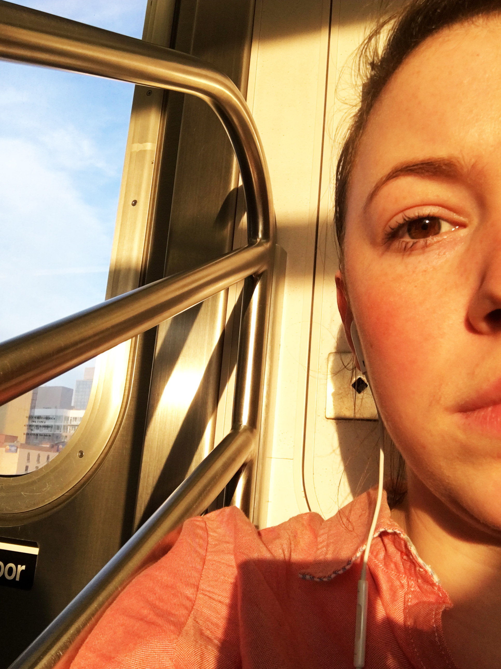 The sun is still high and bright at the time I'm commuting home and it's kind of glorious - although I wouldn't mind if it was sunset time either