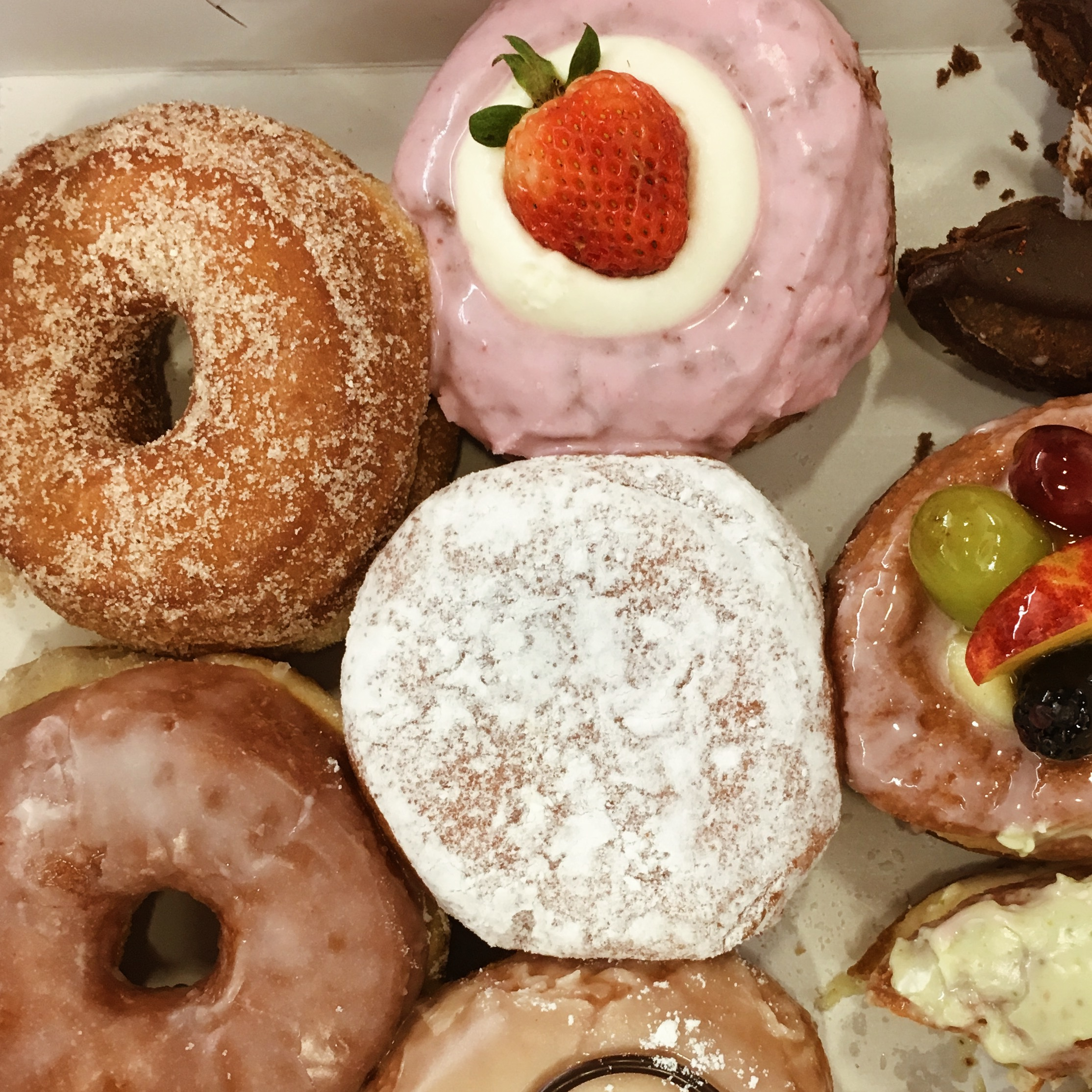 It's the last day for the marketing interns which means beautiful donuts and sharing them bite by bite in the office