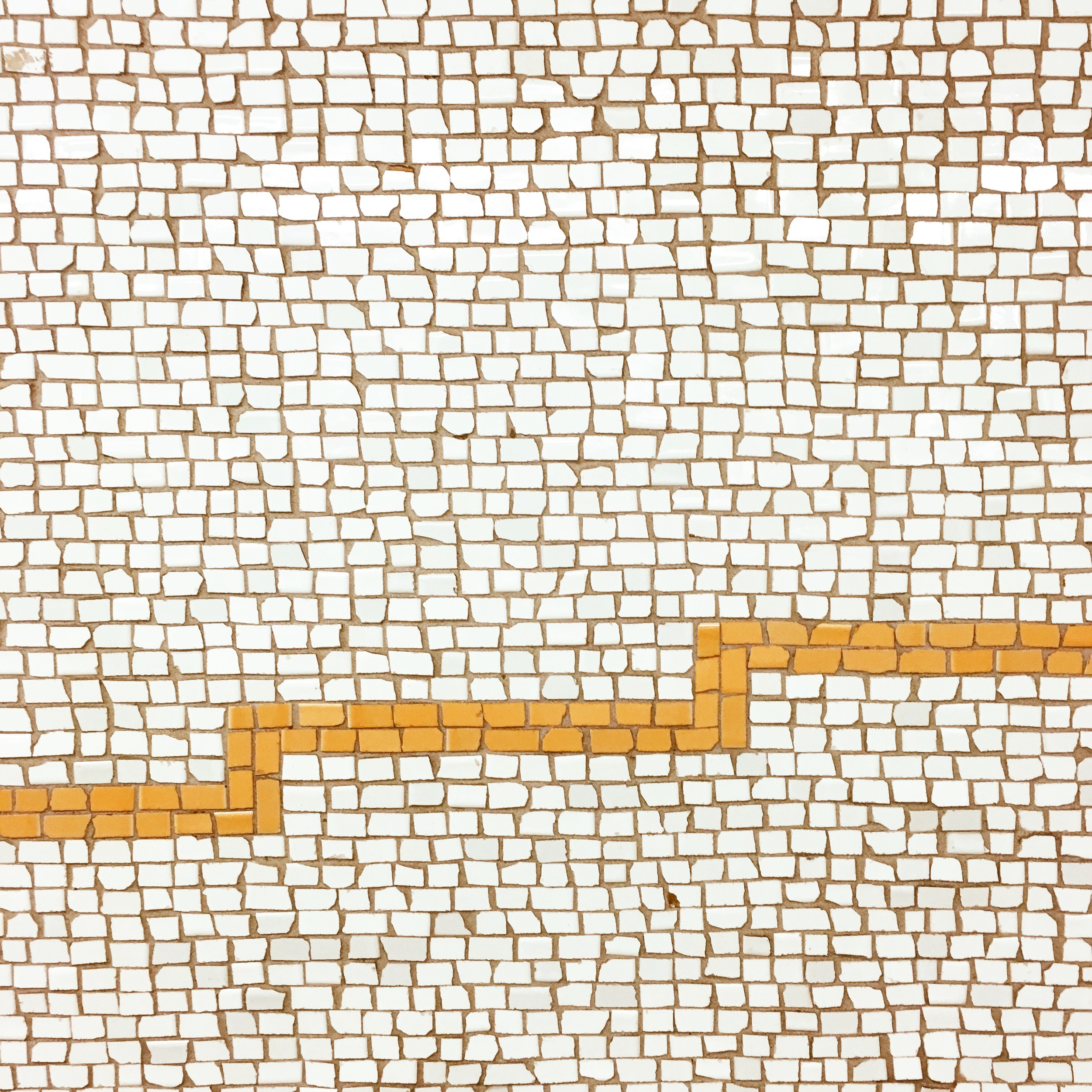I'm always amazed by the tile work in the subway and it's even more brilliant when it's on the way home from work!