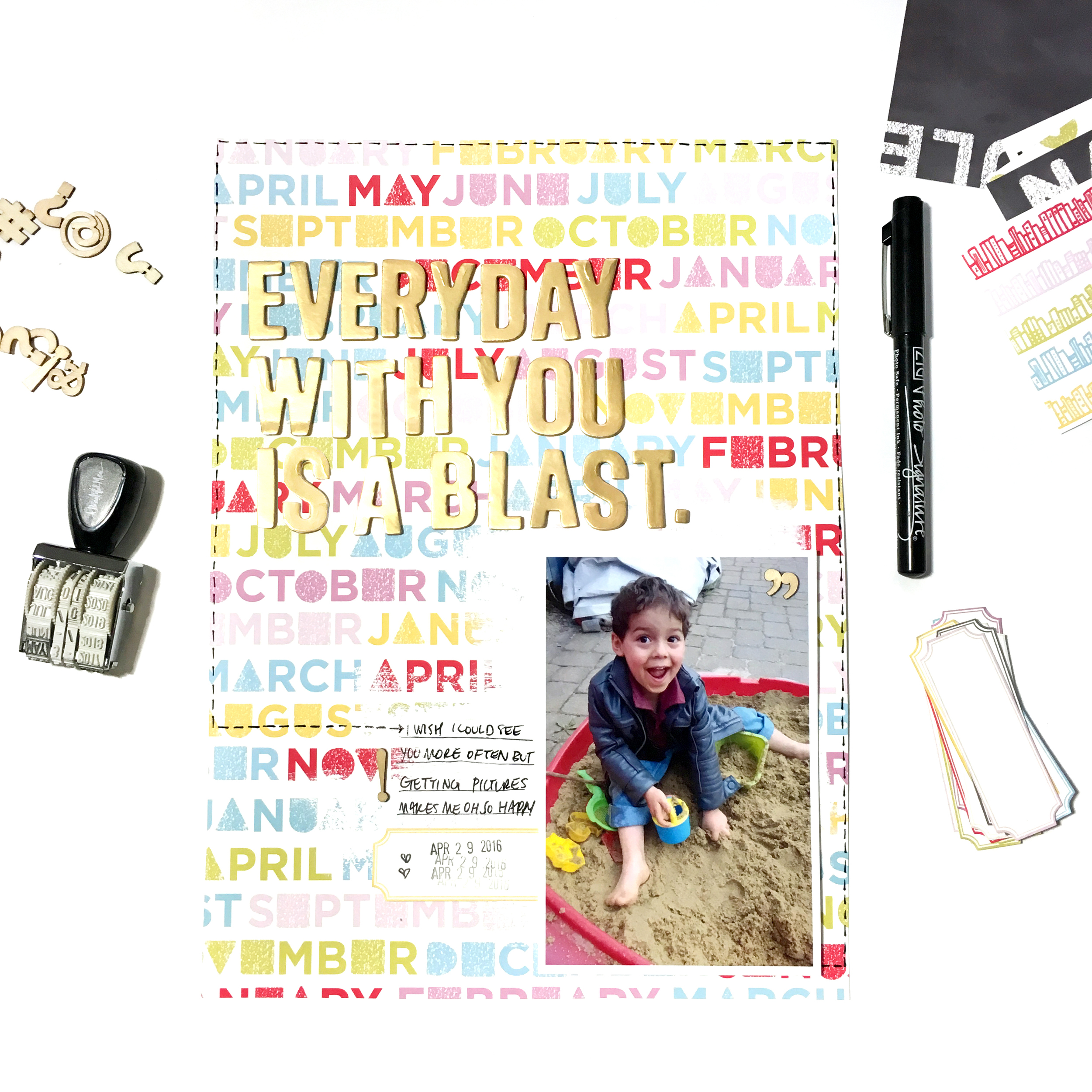 August Kit Sneaks | The Paper Curator Shop