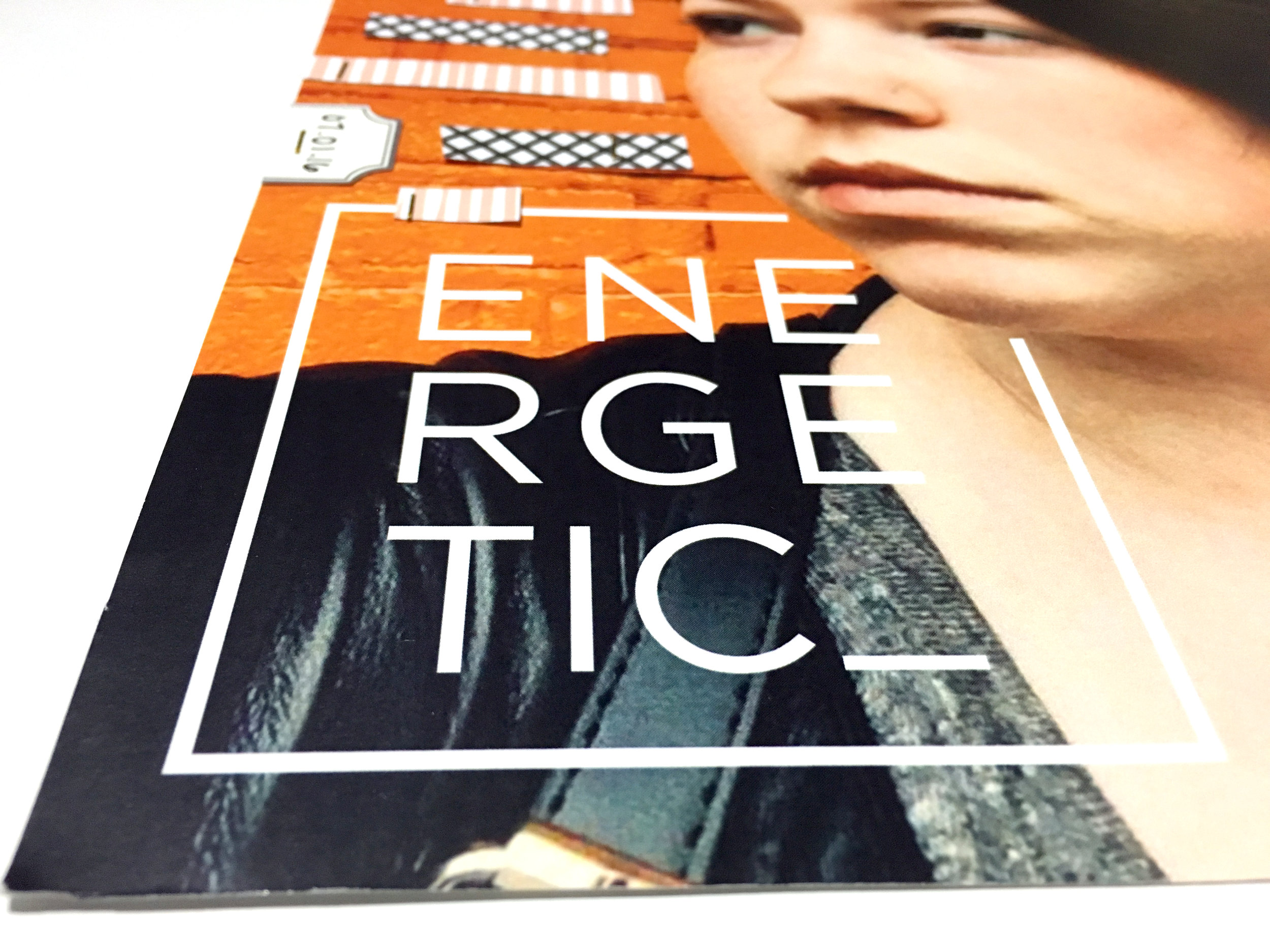 'Energetic' Scrapbook Layout | The Paper Curator