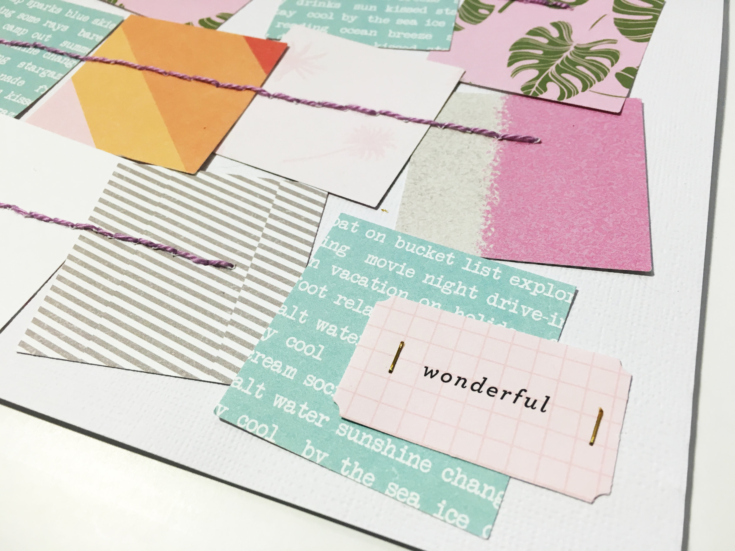 'Morning Hello' Scrapbook Layout | The Paper Curator