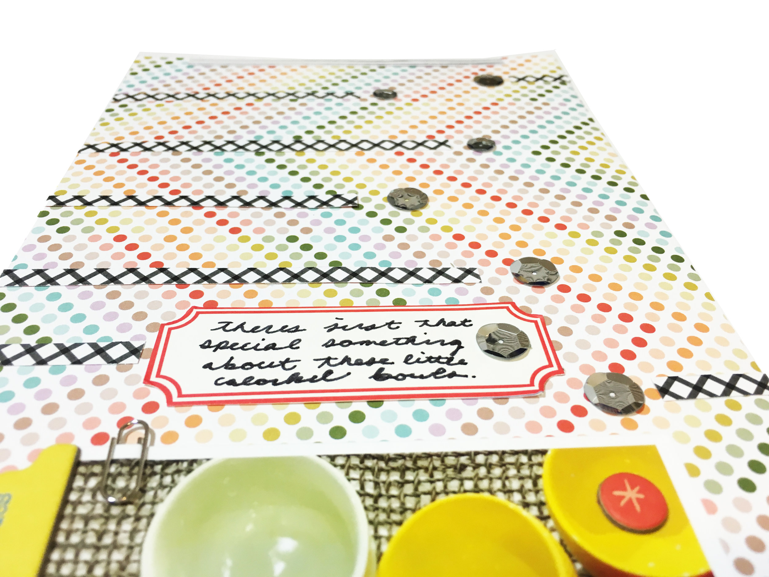 'That Something' Scrapbook Layout | The Paper Curator