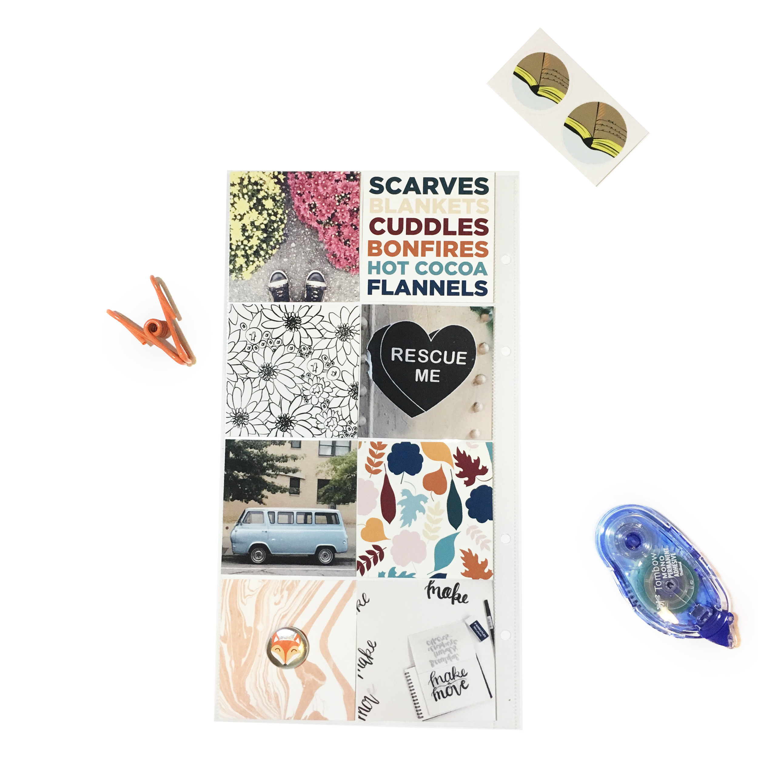 October Kit Sneaks | The Paper Curator