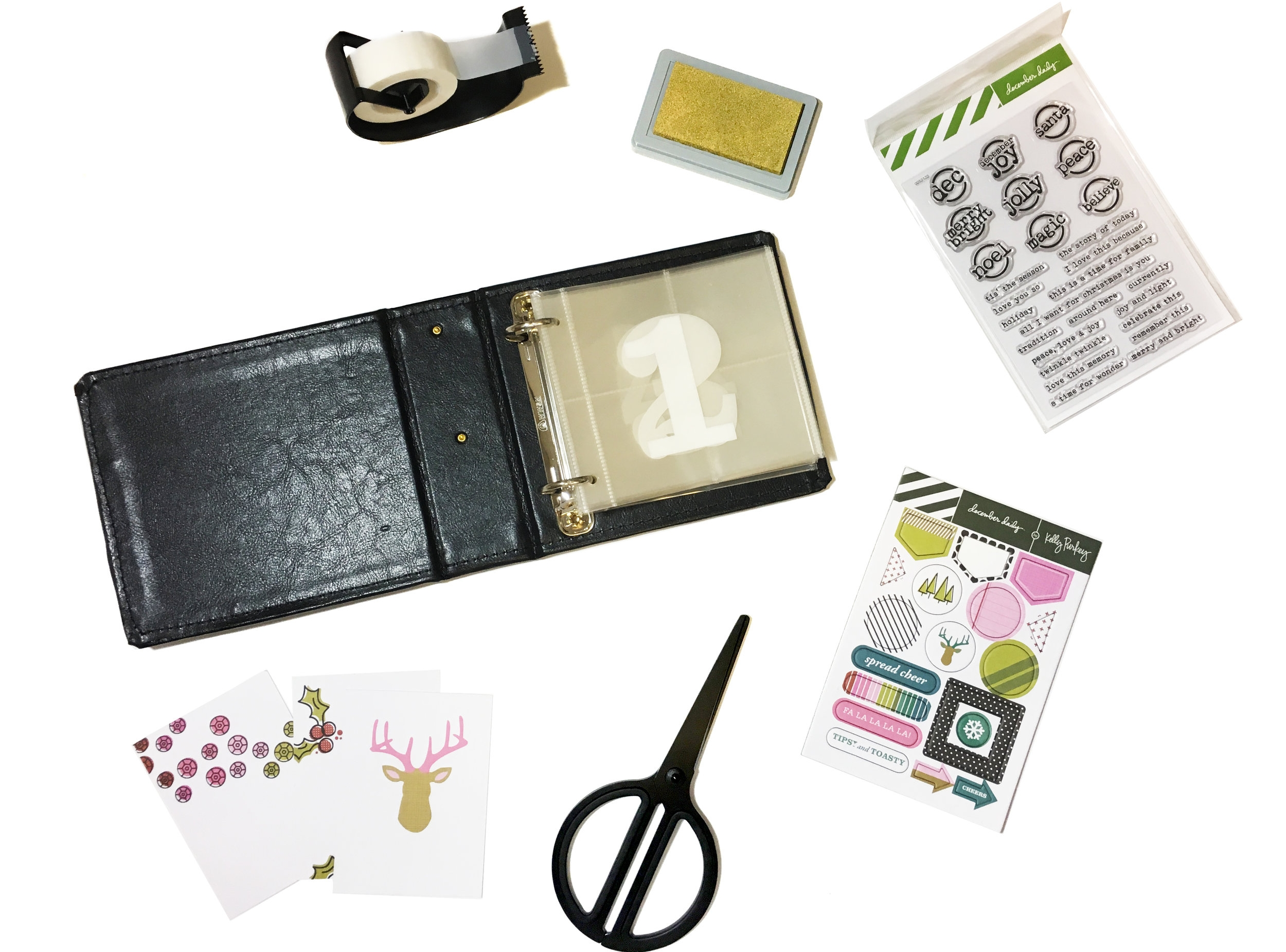December Daily Prep | The Paper Curator