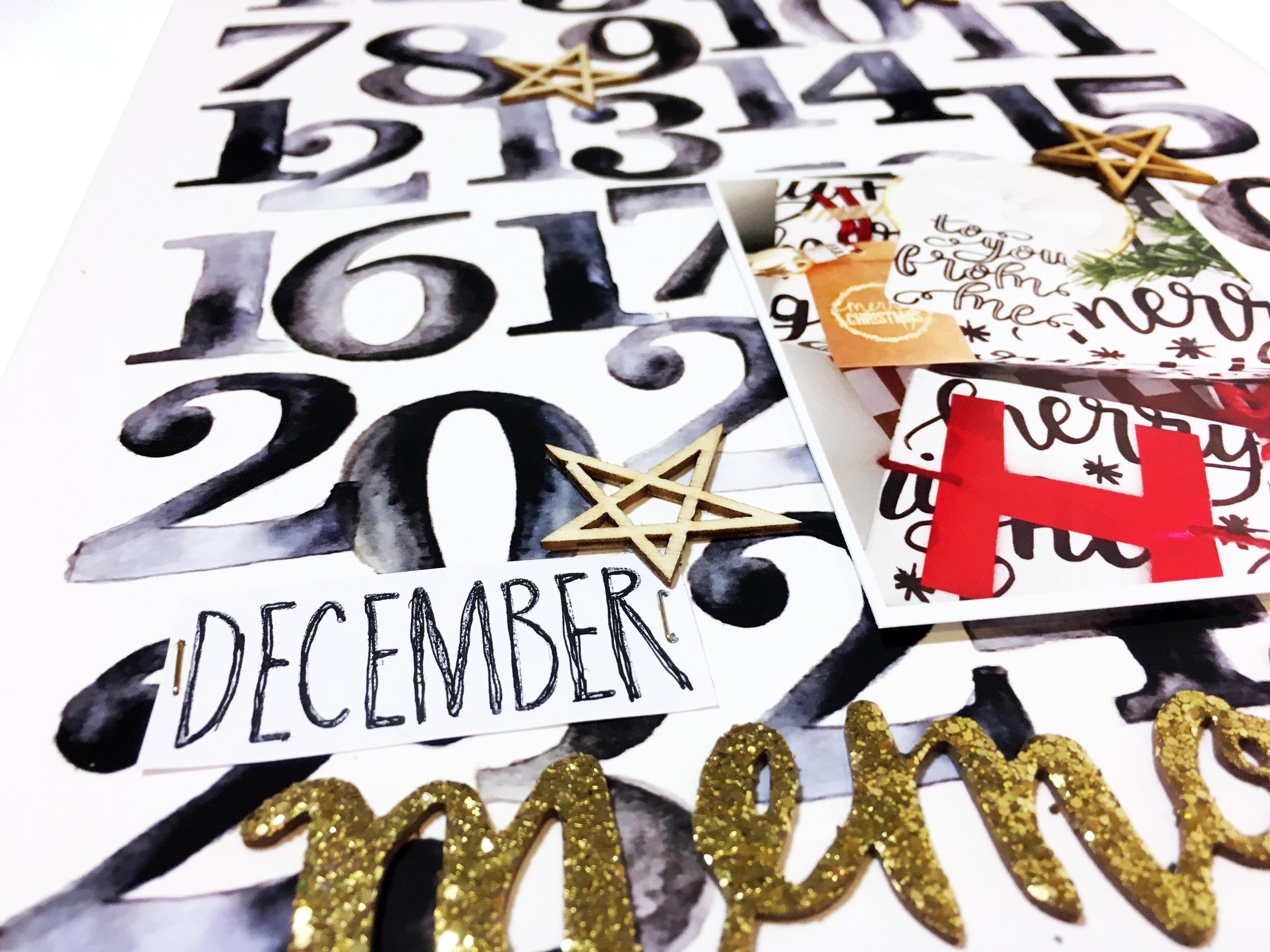 December Kit Sneaks | The Paper Curator
