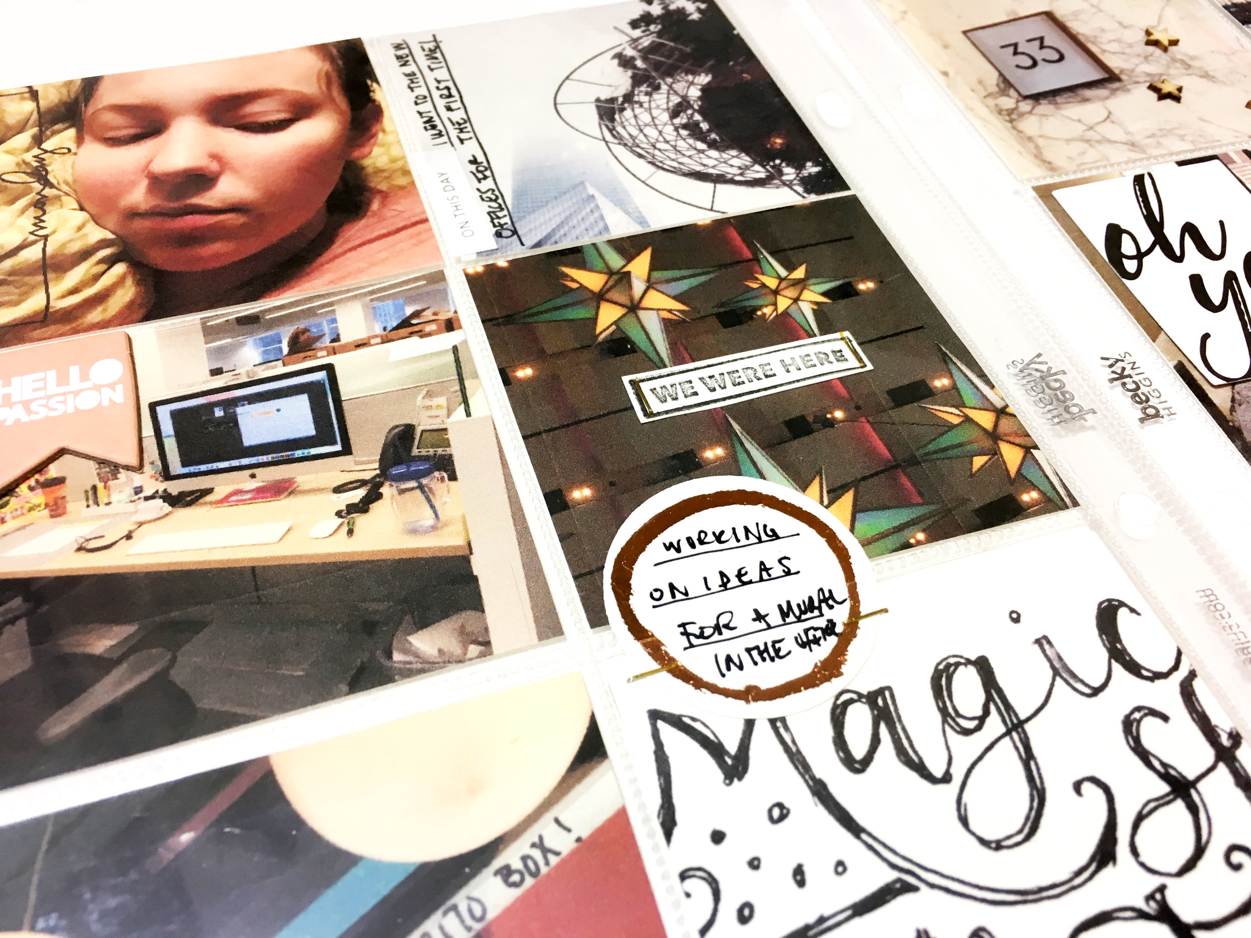 2017 Project Life Week No. 1 | The Paper Curator