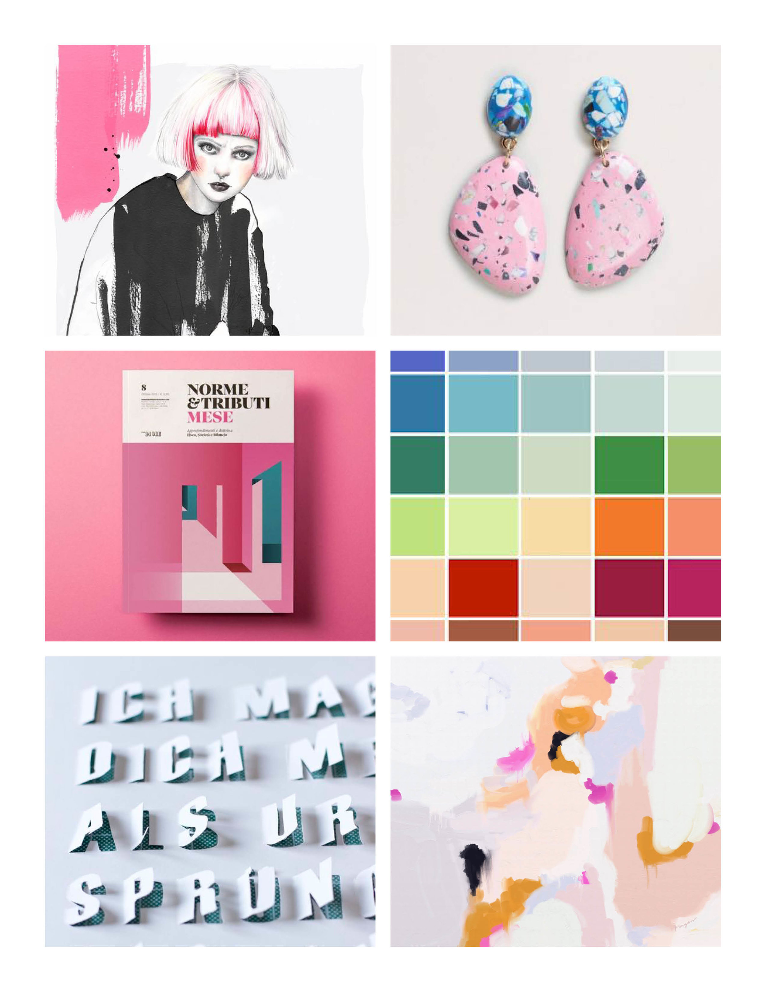 Weekly Inspiration with Monday Mood Board 76   The Paper Curator